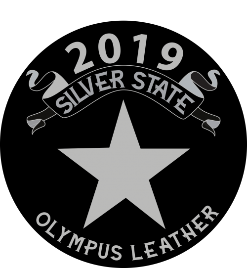 silver state olympus leather logo